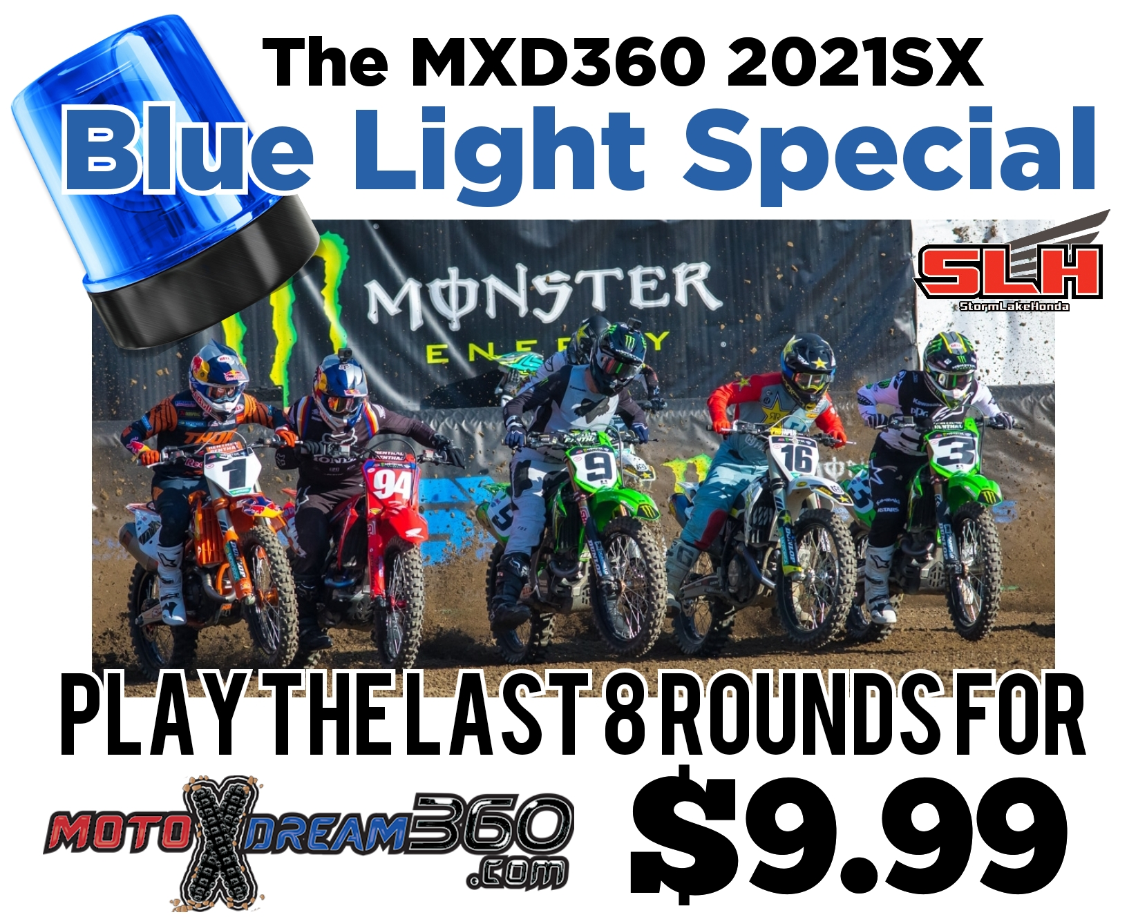 JOIN Storm Lake Honda 2021SX for $9.99